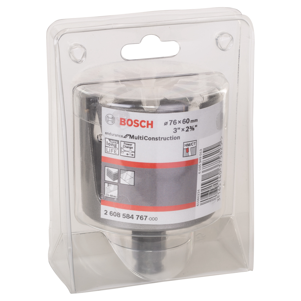 Bosch Endurance for Multi Construction Hålsåg Power Change 76mm
