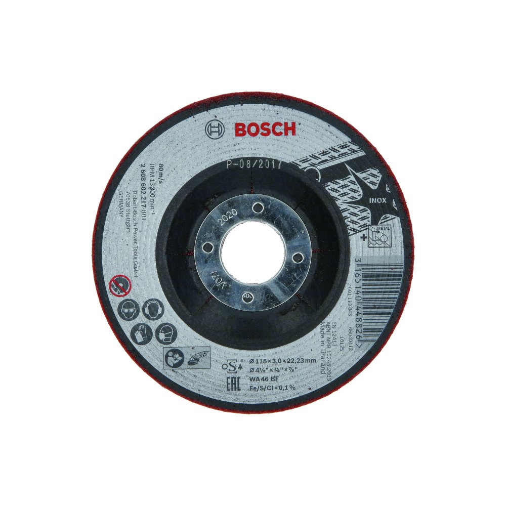 Bosch Slipskiva SEMI-FLEX Ø115x3mm