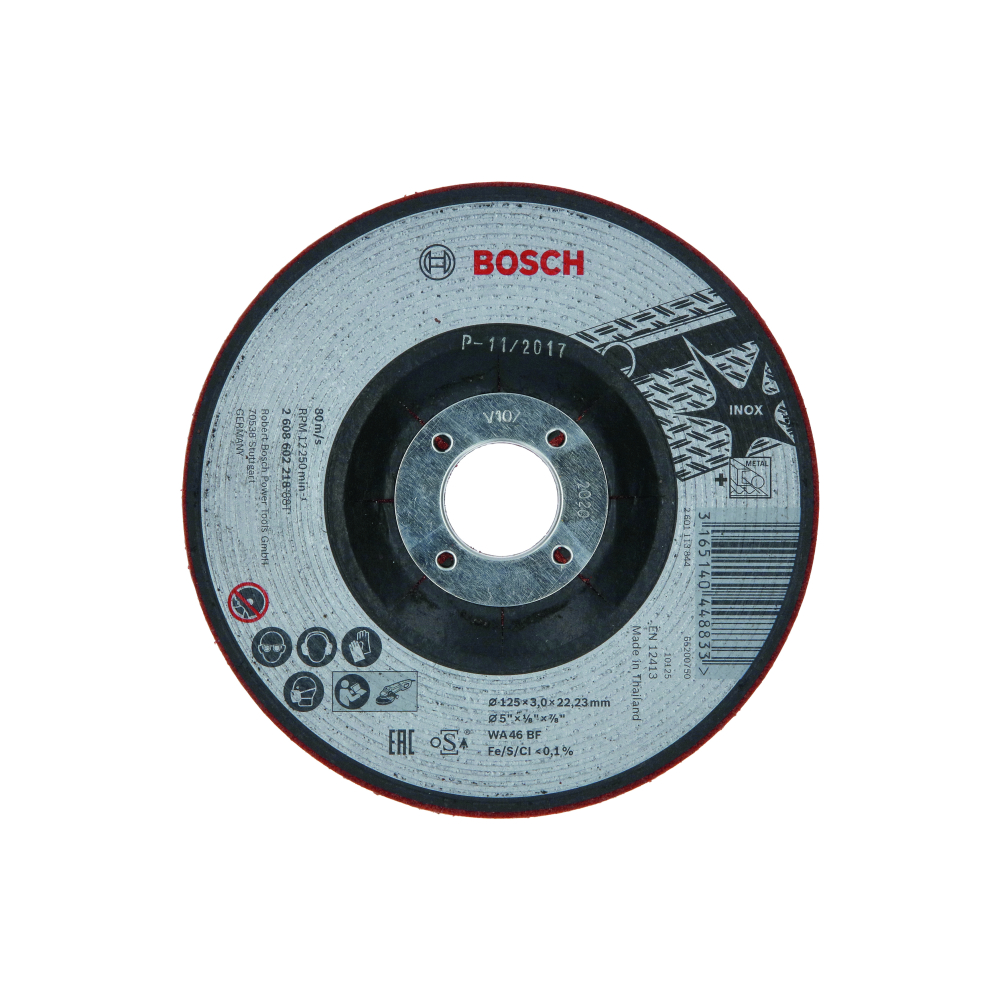 Bosch Slipskiva SEMI-FLEX Ø125x3mm