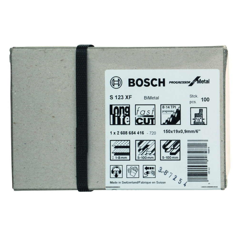 Bosch Progressor for Metal S123XF Tigersågblad 150mm 100-pack