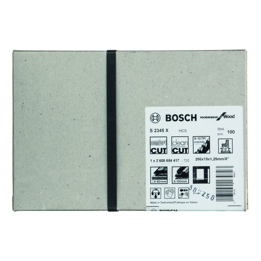 Bosch Progressor for Wood S2345XF Tigersågblad 200mm 100-pack