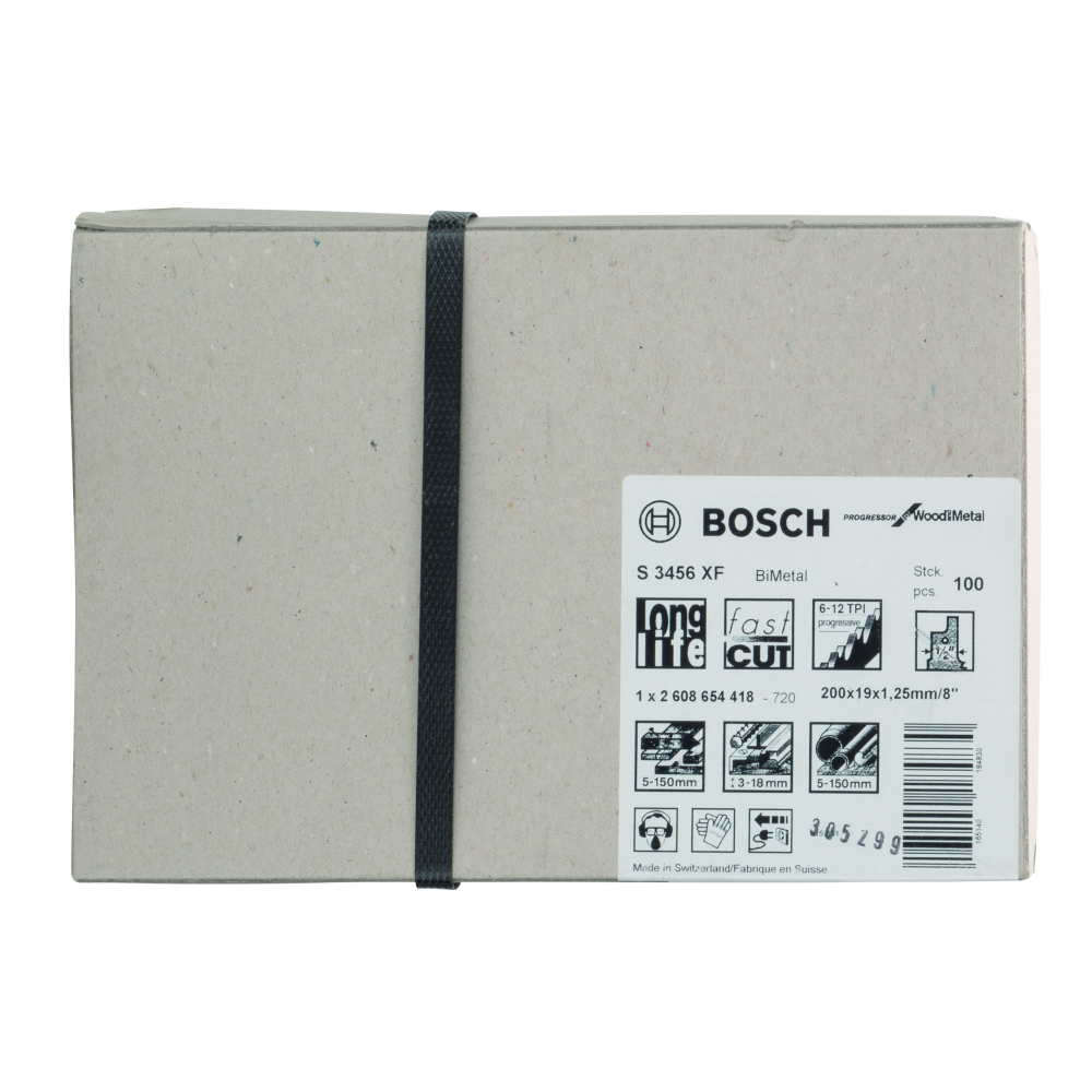 Bosch Progressor for Wood and Metal S3456XF Tigersågblad 200mm 100-pack