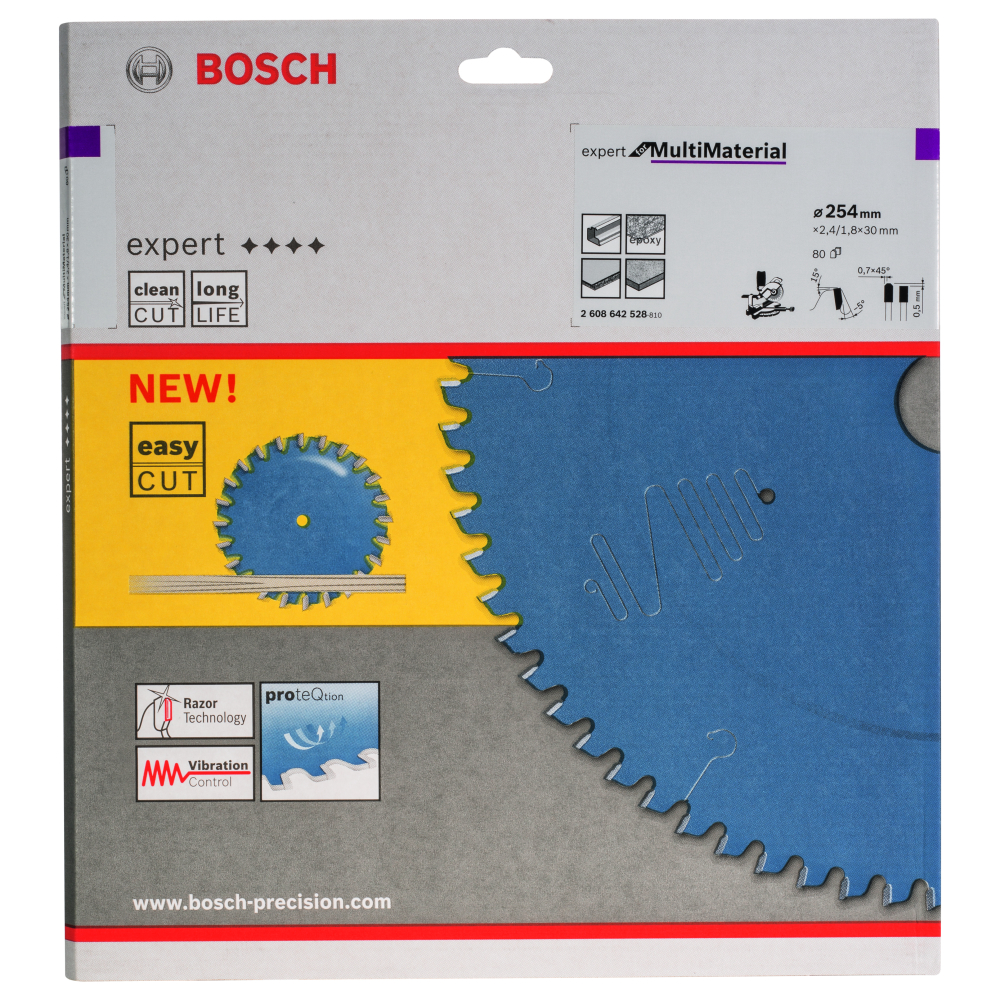 Bosch Expert for Multi Material Sågklinga 254x2,4x30mm 80T