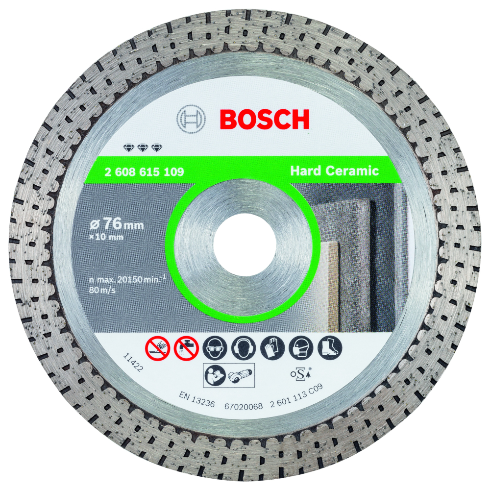 Bosch Best for Hard Ceramic Diamantskiva Extra Clean 76x10mm
