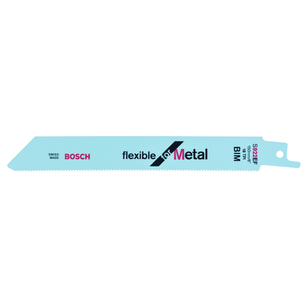 Bosch Flexible for Metal S922EF Tigersågblad 150mm 5-pack