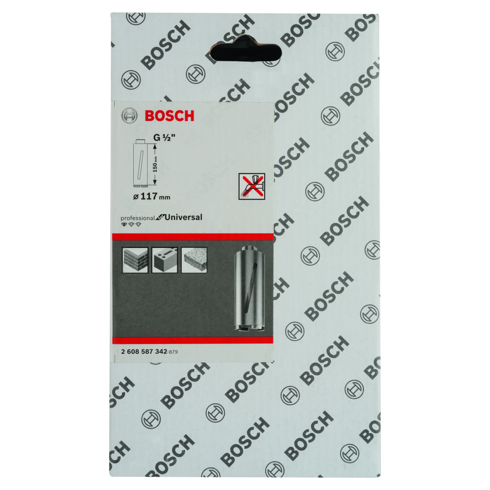 Bosch Diamantborr TORR 117X150mm 1/2PROF