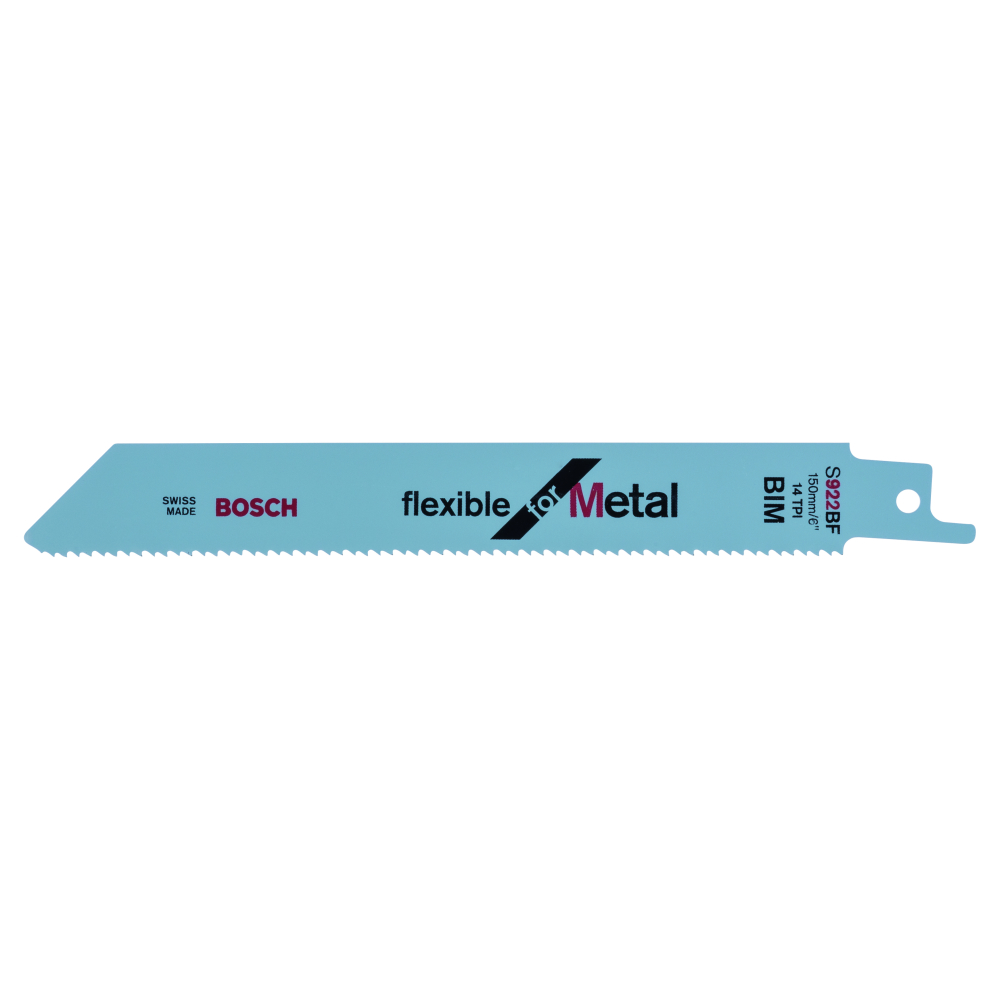 Bosch Flexible for Metal S922BF Tigersågblad 150mm 100-pack