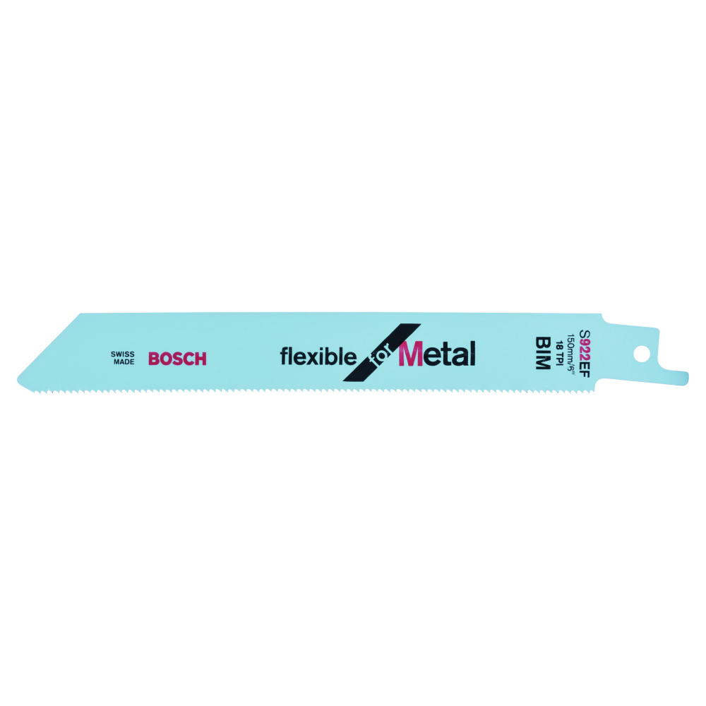 Bosch Flexible for Metal S922EF Tigersågblad 150mm 100-pack