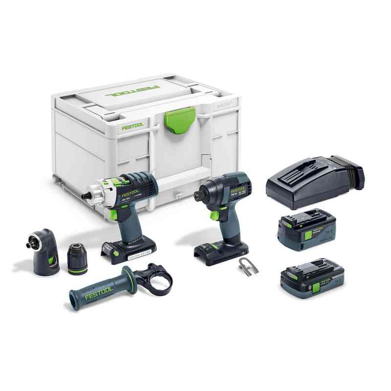 Festool TID18 5,2/4,0 I-Set PDC18
