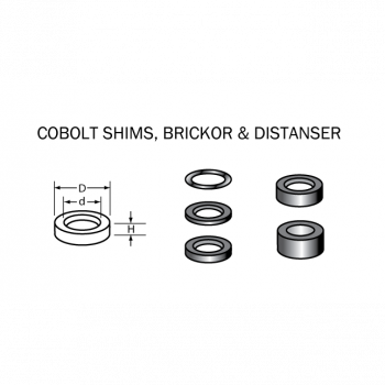Cobolt Distansring 16 x 8 x 3,4 mm